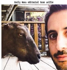 Daily Nous Editorial Team Selfie